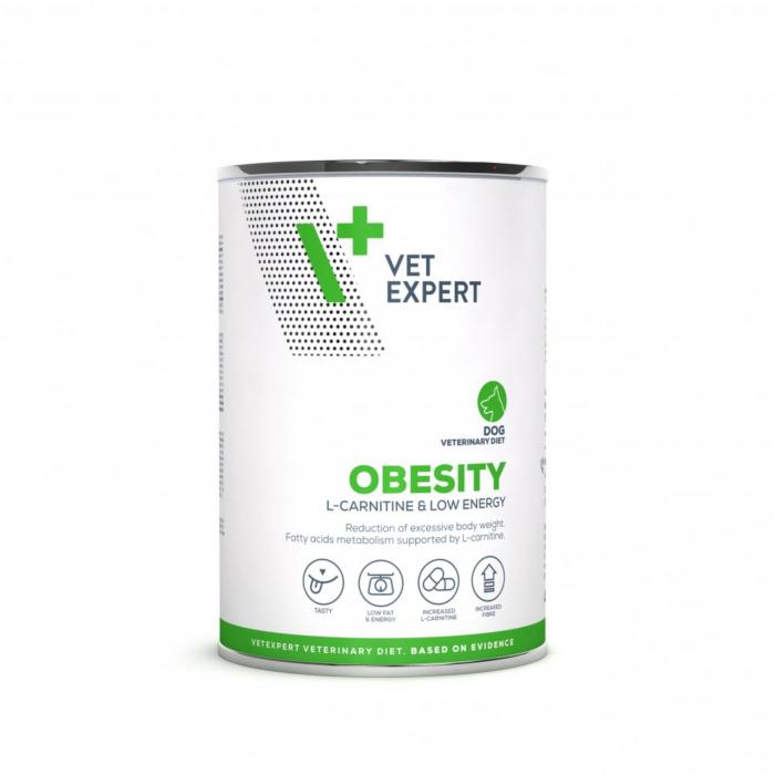 4T- Dieta hrana umeda Obesity dog, 400 g 0