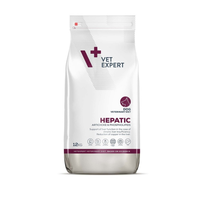 4t Veterinary hepatic dog VetExpert 12 kg 0