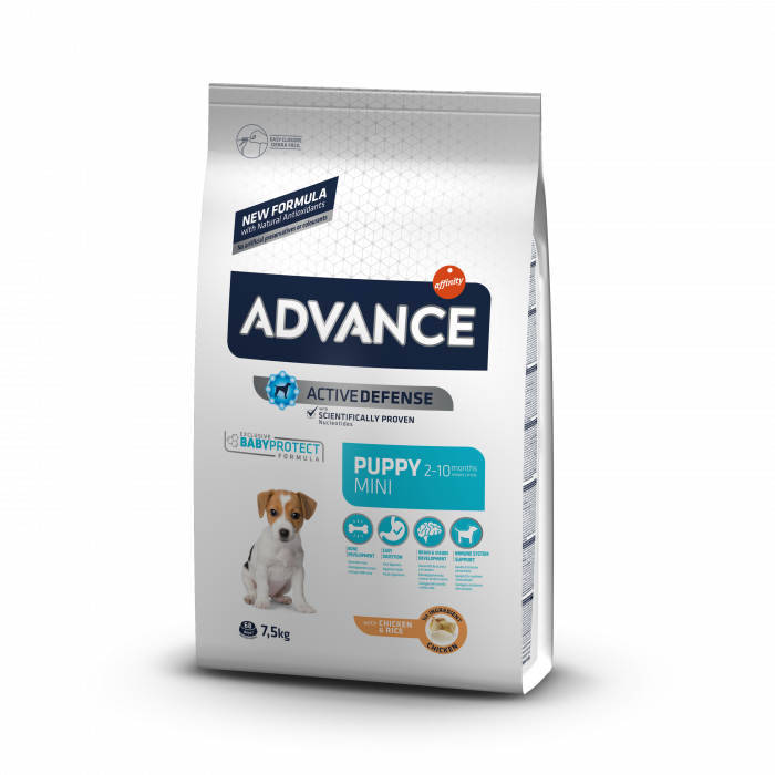 Advance dog puppy protect mini 7,5 kg 0