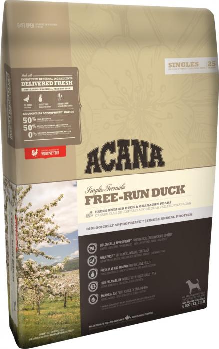Acana Free-Run Duck - Rata si pere, 11,4 kg [0]