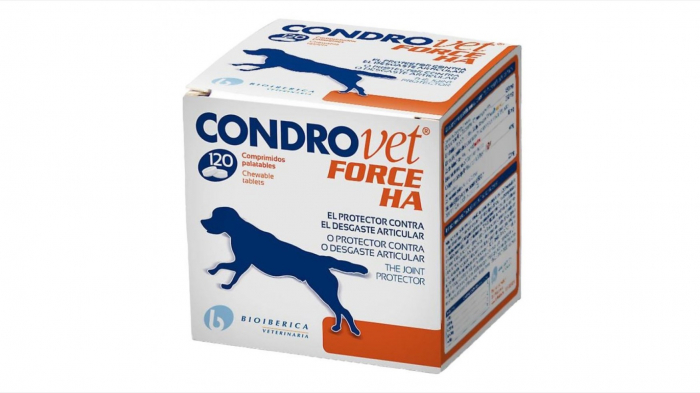 Condrovet Force HA, 120 comprimate 0