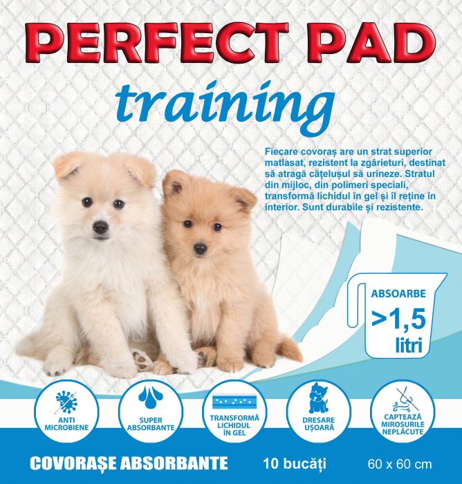 Covorase absorbante Perfect Pad,  60x60 , 10 BUC 0