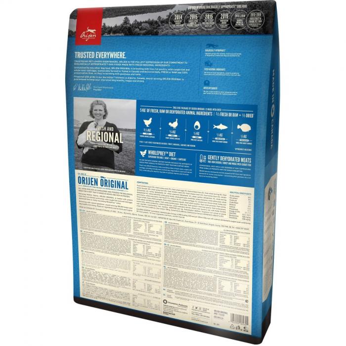 Orijen Adult Original - 11.4 kg 1