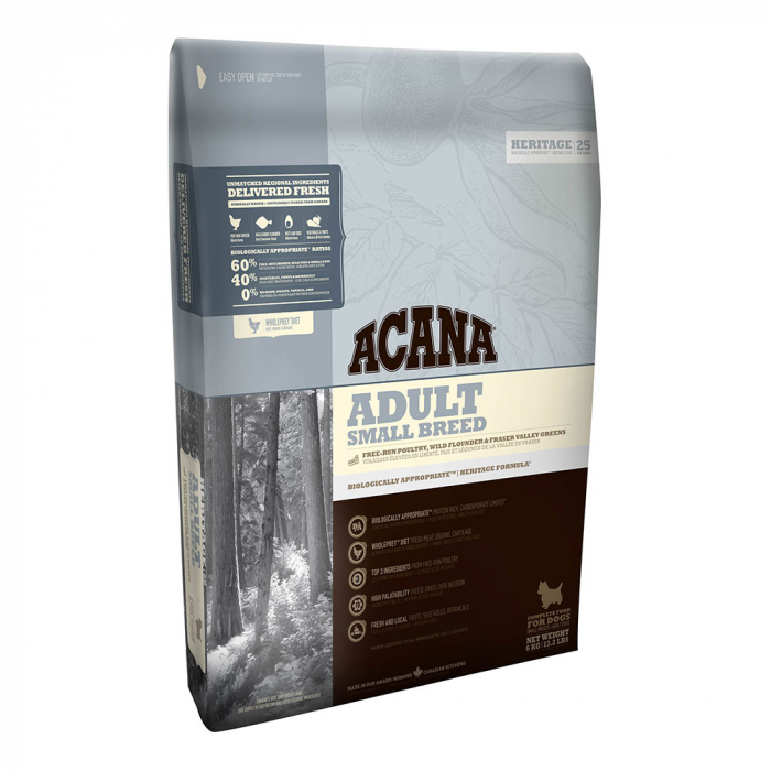 Acana Heritage Adult Small Breed, 6 kg 0