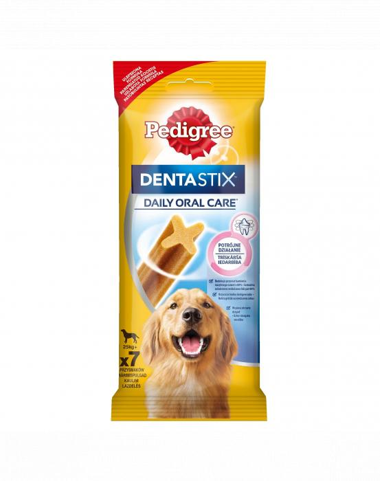 Pedigree Dentastix Talie Mare 7 buc, 270 g 0