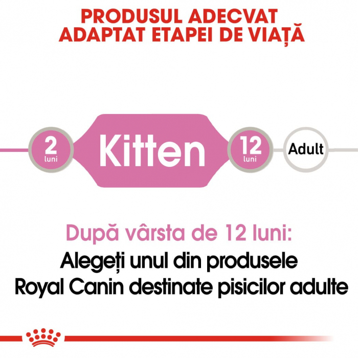 ROYAL CANIN Kitten Instinctive in Gravy Pouch, 12 plicuri x 85 g 1