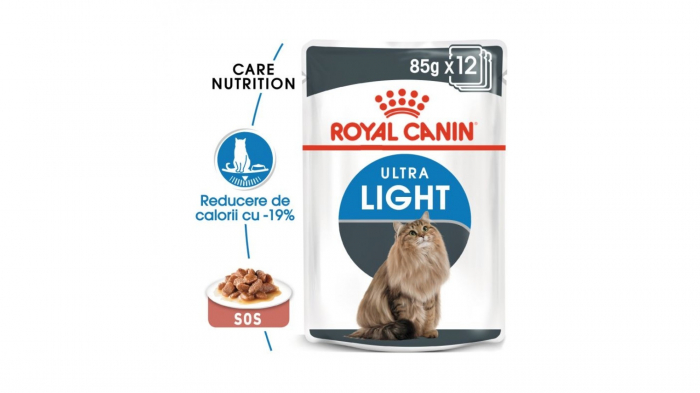 Royal Canin Feline Ultra Light Gravy, 1X85 g 0