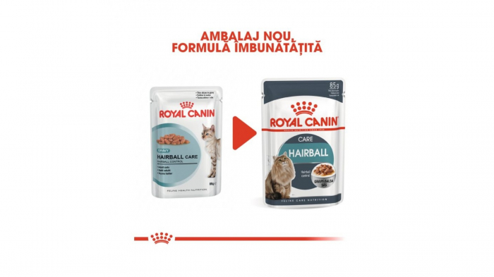 Royal Canin Hairball Care Gravy, 12 plicuri x 85 g 2