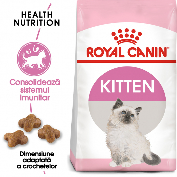 Royal Canin Kitten, 10 kg 0