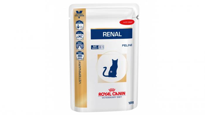 Royal Canin Felin Hrana Umeda Renal cu Vita 85 g 0