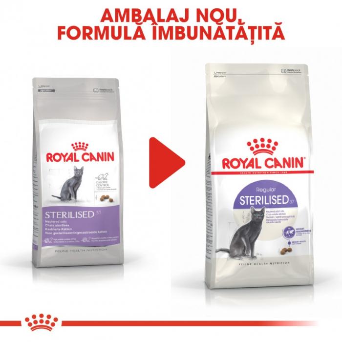 Royal Canin Feline Sterilised 37, 2 kg 4