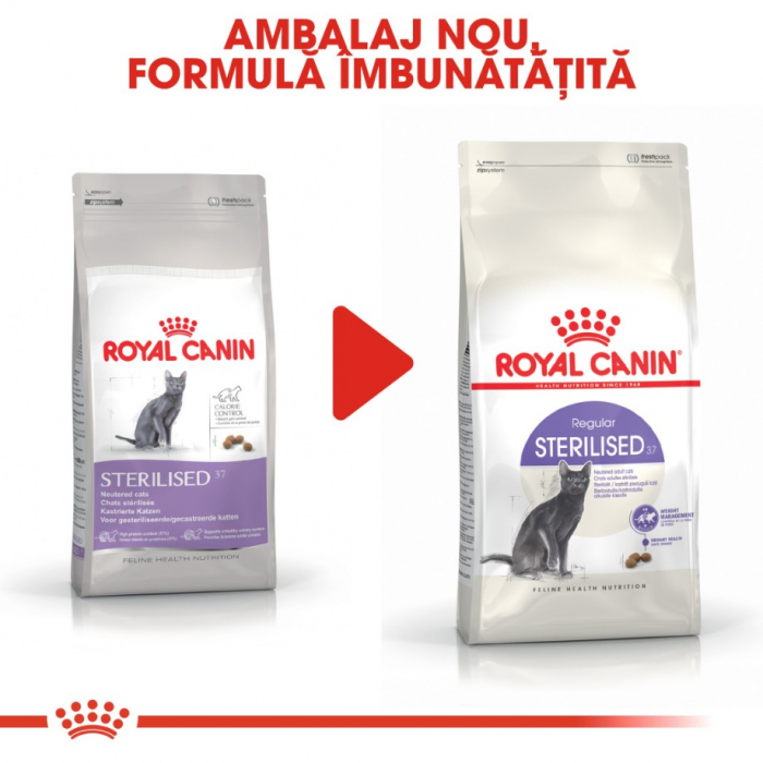 Royal Canin Feline Sterilised 37, 4 kg 3