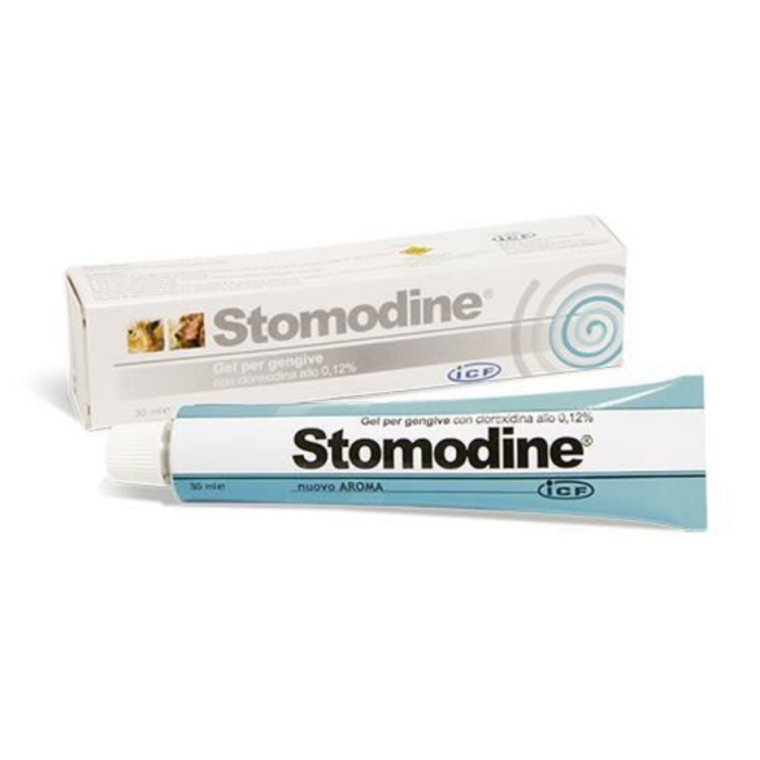 Stomodine Gel 30 ml - Igiena orala caini si pisici 0