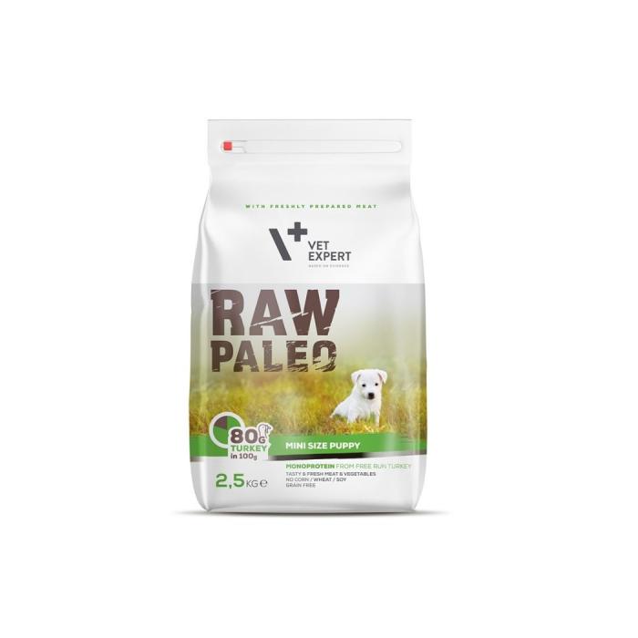 Hrana Uscata, Raw Paleo Mini Puppy 2.5 kg 0