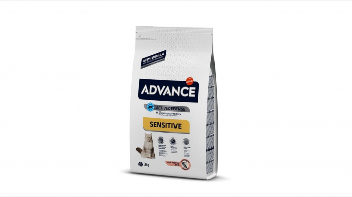Advance Cat Adult Somon Sensitive, 3 kg 0