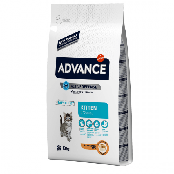 Advance Cat Kitten 10 kg 0