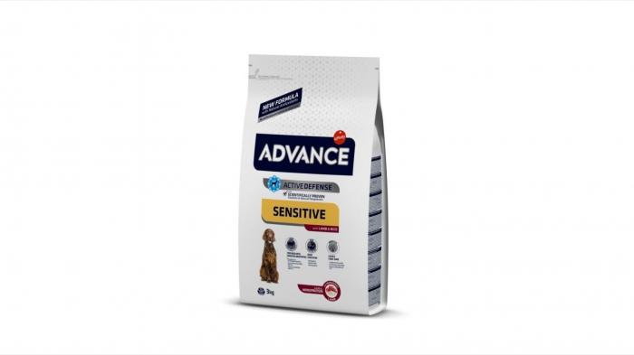 Advance Dog Adult Sensitive Miel si Orez, 3 kg [0]