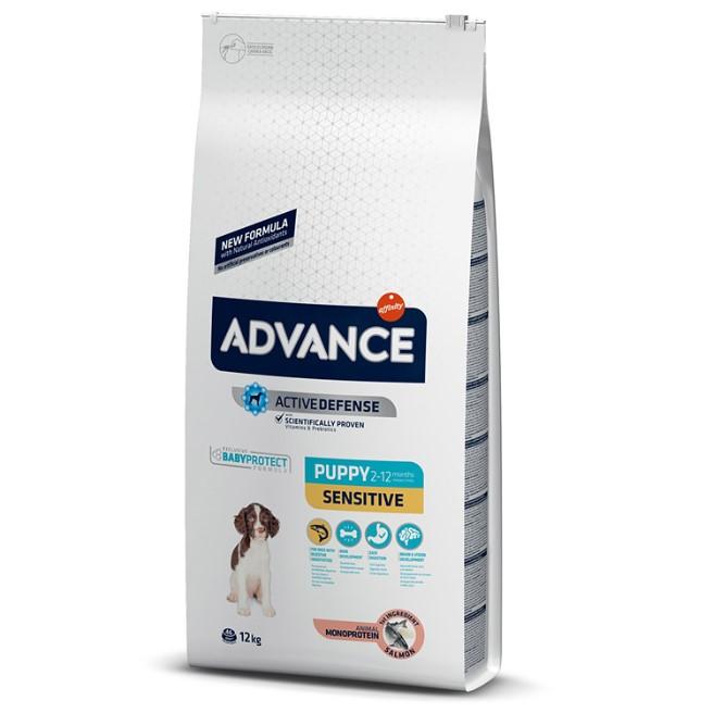 Advance Dog Puppy Sensitive, 12 kg 0