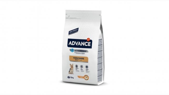 Advance Dog Yorkshire Terrier hrana uscata, 1.5 kg 0