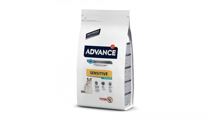 Advance Cat Sterilised Somon Sensitive, 1.5 kg 0