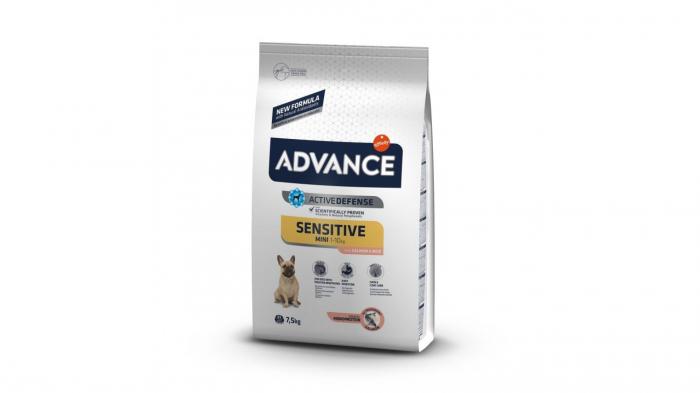 Advance Dog Mini Sensitive Somon & Orez, 7.5 kg 0