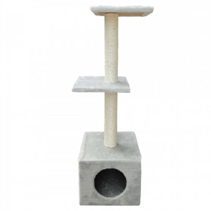 Ansamblu de joaca etajat cu sisal 95 cm inaltime 0