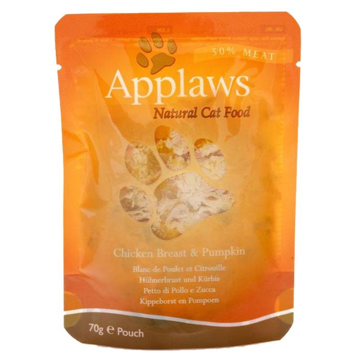 Applaws plic hrana umeda pisici Piept de Pui şi Dovleac 12x70 g 0