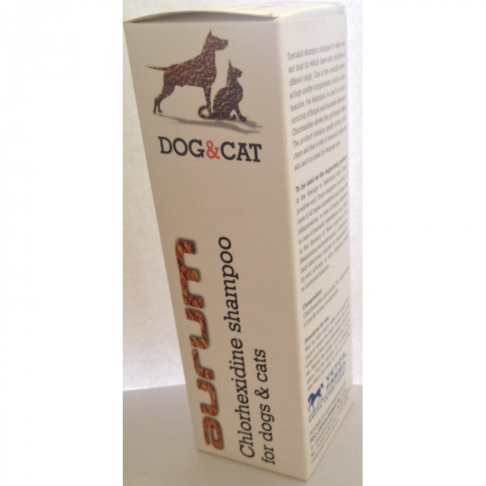 Aurum -Șampon cu clorhexidină pentru câini și pisici 250 ml 0