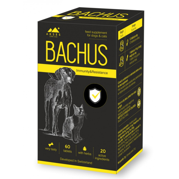 Bachus Immunity & Resistance, 60 tablete 0