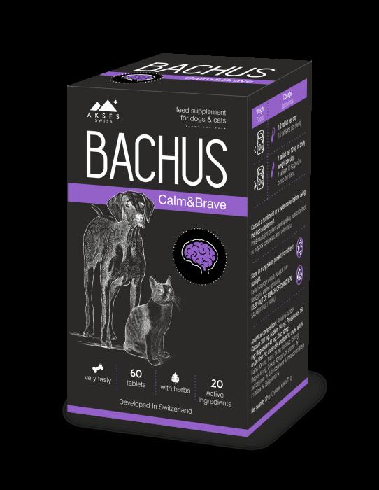 Bachus Calm&Brave, 60 tablete 0