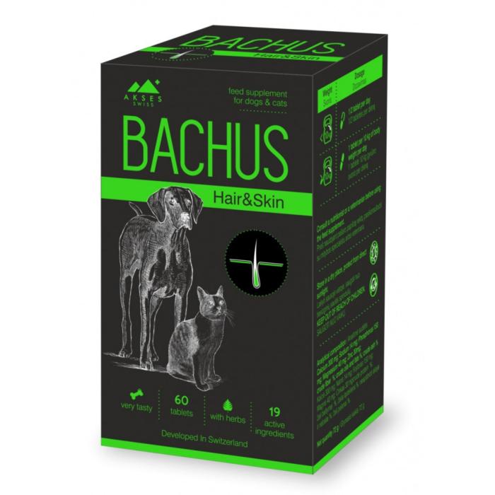 Bachus Hair & Skin, 60 tablete [0]
