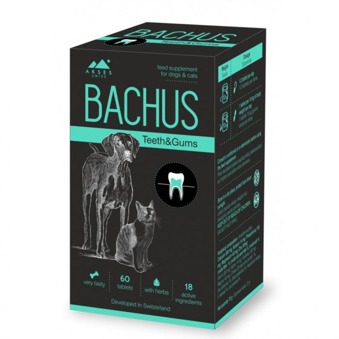 Bachus Teeth & Gums, 60 tablete 0