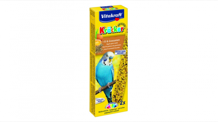 Batoane pentru perusi, Vitakraft Kracker Ou, 54 g 0