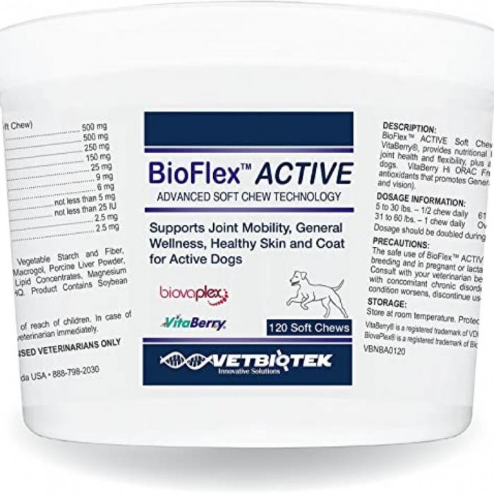 BIOFLEX active, VetBiotek, 120 tablete [0]