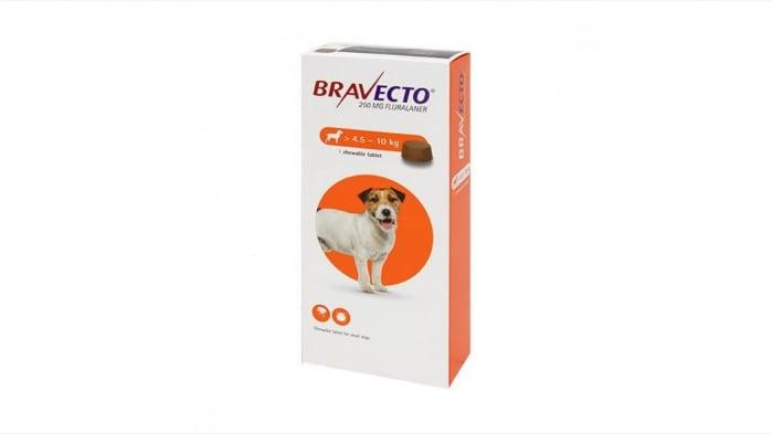 Bravecto 4,5-10  kg, 1 tableta masticabila x 250 mg [0]