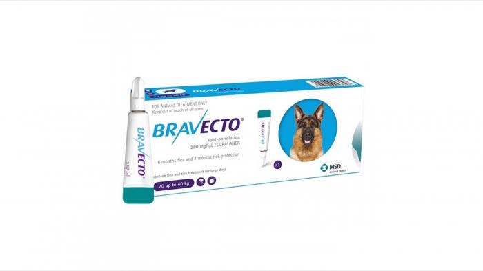 Bravecto spot on caine (20-40 kg) 1 pipeta [0]
