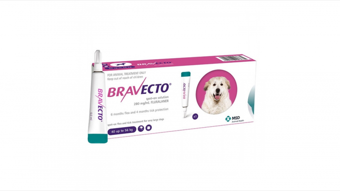 Bravecto spot on caine (40-56 kg) 1 pipeta 0
