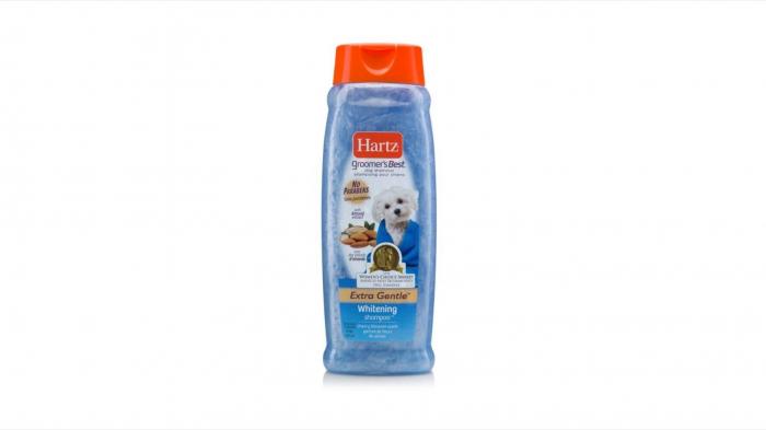 Hartz GB Sampon pentru Blana Alba Caini, 532 ml 0