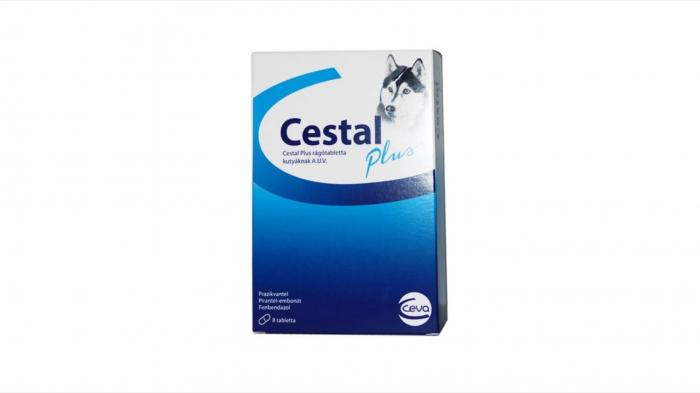 Cestal Plus pentru caini - blister cu 8 comprimate 0