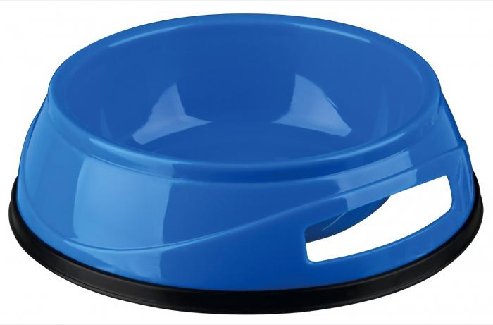 Castron Plastic cu Greutate Antiderapant 0.75 l/16 cm [5]