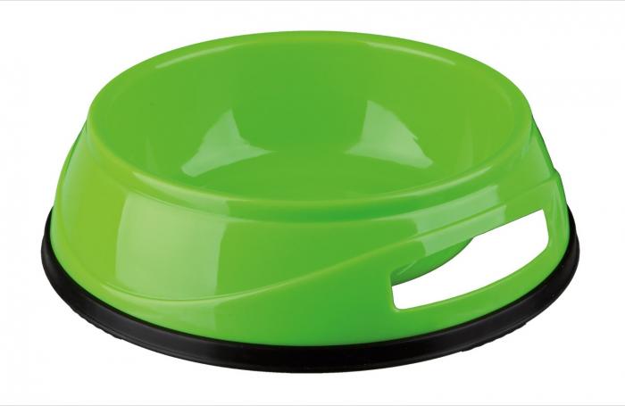 Castron Plastic cu Greutate Antiderapant 0.75 l/16 cm [1]
