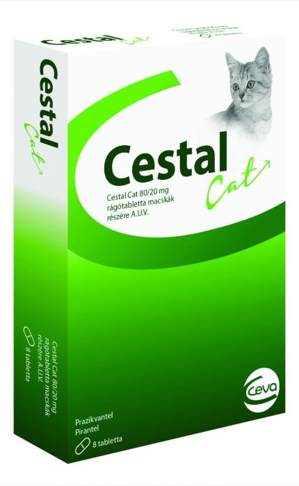 Cestal Cat Flavour pentru pisici - 8 comprimate 0