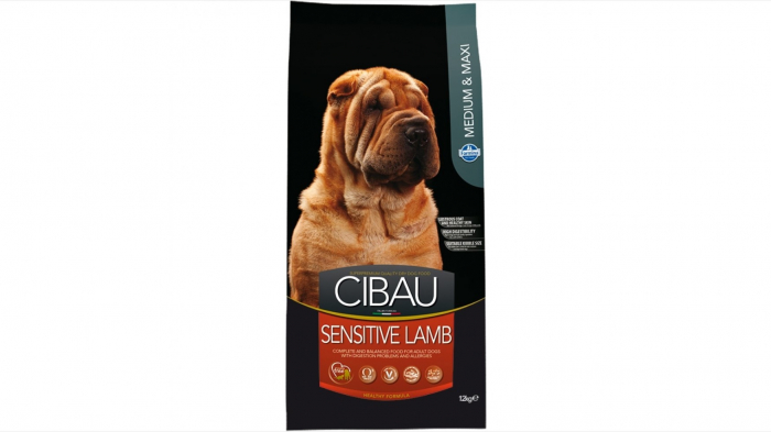 Cibau Dog Sensitive Lamb Medium-Maxi 12 Kg 0
