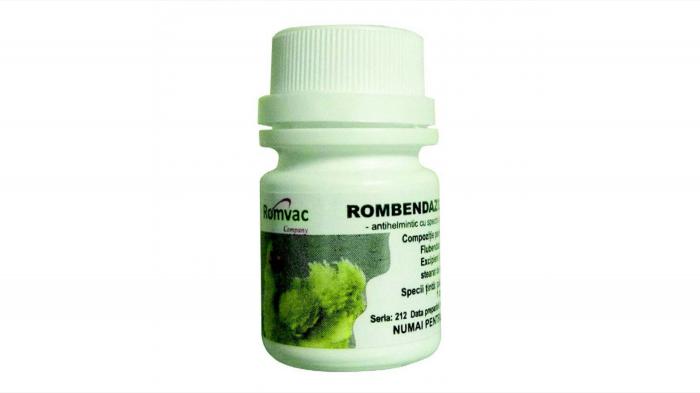 ROMBENDAZOL F 100 Comprimate 0