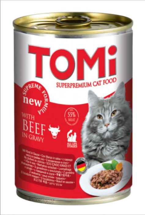 Conserva hrana umeda Tomi pisica cu Vita, 400 g 0