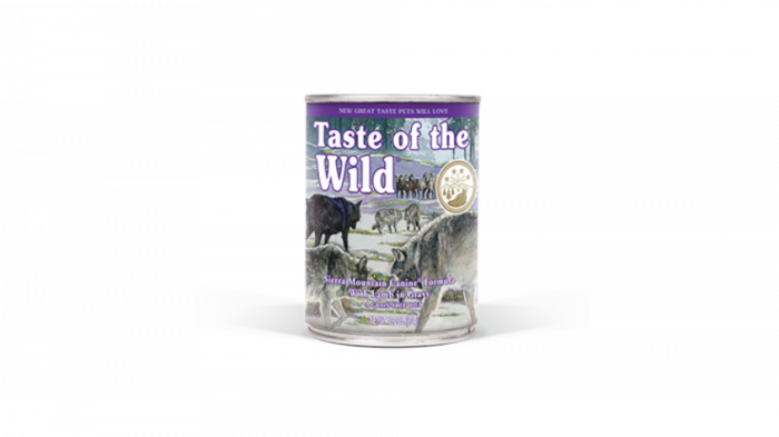 Conserva Taste of the Wild - Sierra Mountain, 390 g 0