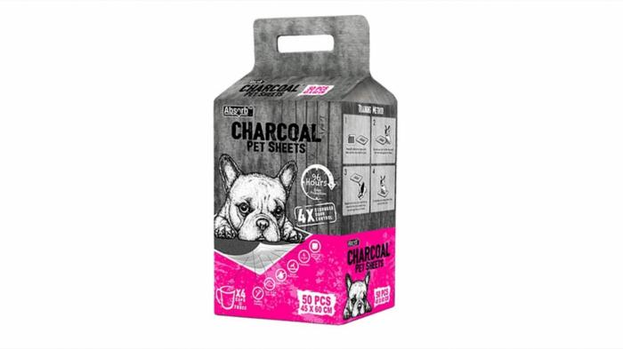 Covoras Absorbant Charcoal M (45x 60 cm) - 50 buc [0]