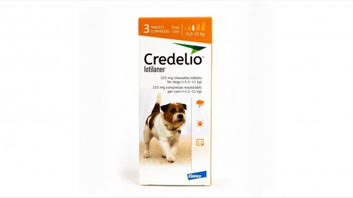 Credelio 225 mg caini (5.5 - 11 kg) - 3 tablete [0]