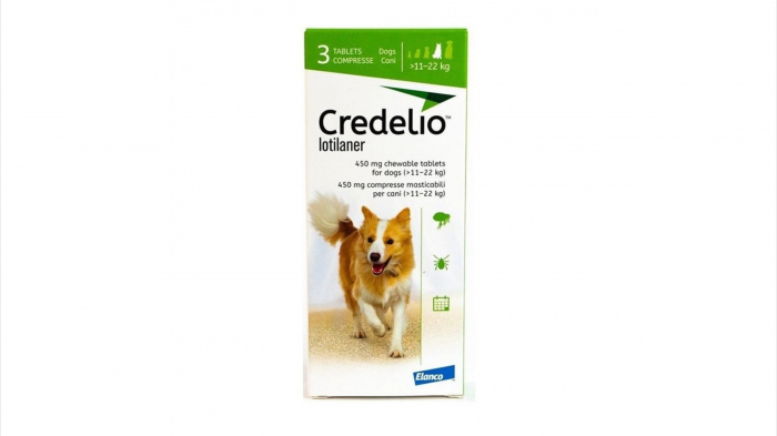 Credelio 450 mg caini (11 - 22 kg) - 3 tablete [0]