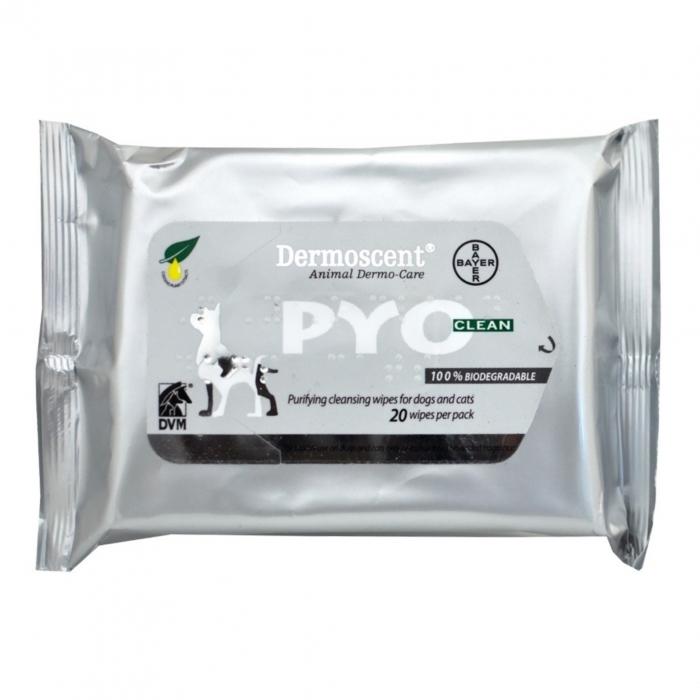 Dermoscent Pyo Clean Servetele - 20 Servetele 0
